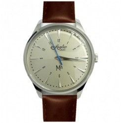 M8 White Brown Leather