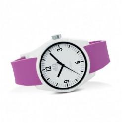 BASIC 43MM White-Purple