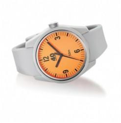 BASIC 43MM Grey-Orange