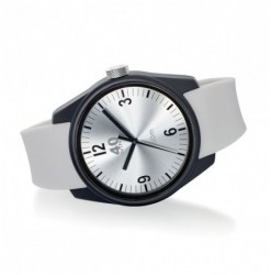 BASIC 43MM Black-Silver-White